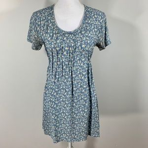 VTG 90s Viscose Babydoll Mini Dress